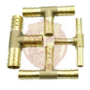 Тройник латунный